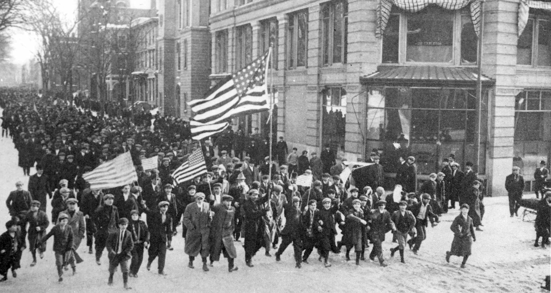 "On this day in 1912, the labor protest later known as the ""Bread and Roses""  strike began in Lawrence. A new state law had reduced the maximum workweek  from ..."