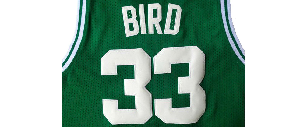online store 18751 2479e Boston Celtics Retire Larry Bird's Number