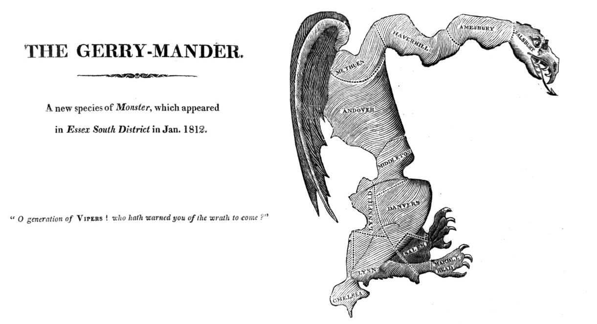 The Great Education Gerrymander Another >> Gerrymander Born In Massachusetts