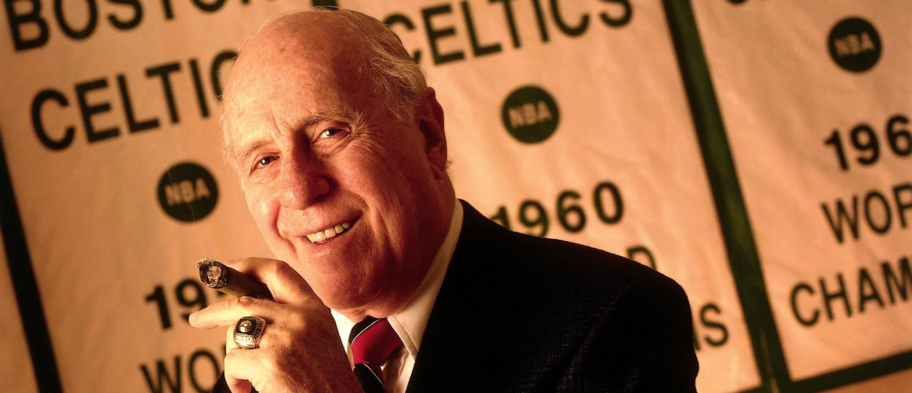 Celtics Coach Red Auerbach Retires