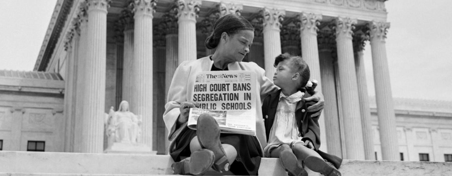 Segregation Drives Discipline >> Supreme Court Strikes Down Separate But Equal