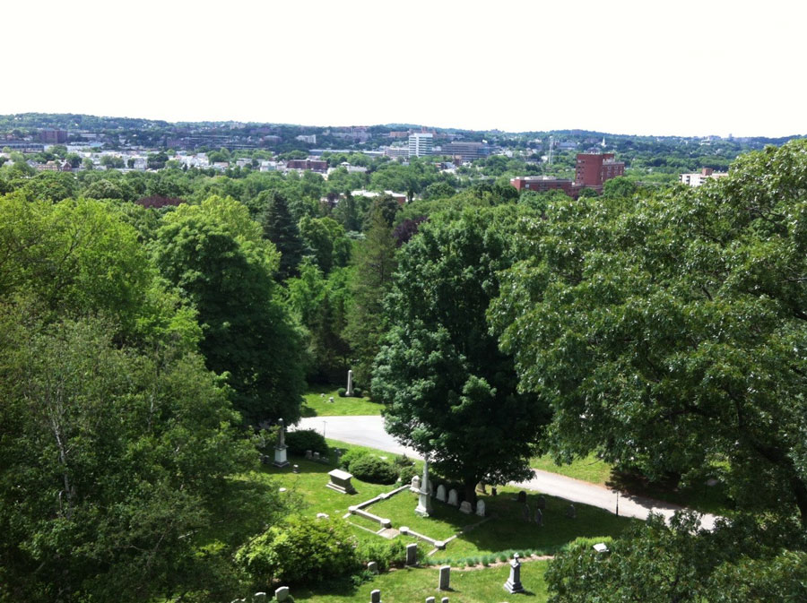 silent city on a hill picturesque landscapes of memory and bostons mount auburn cemetery