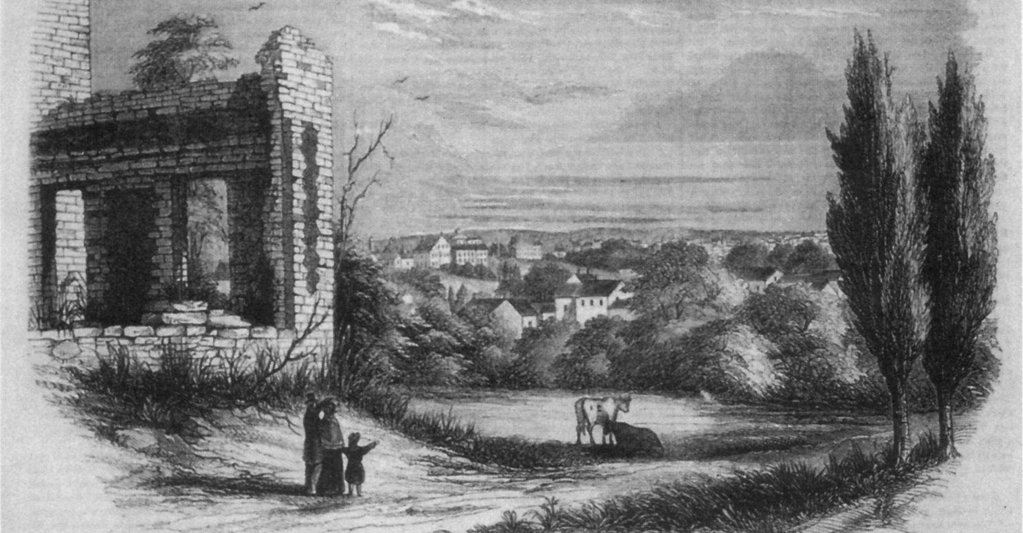 On this day in 1834, the Ursuline Convent in Charlestown lay in ruins. The  night before, a Protestant mob sacked it and burned it to the ground.