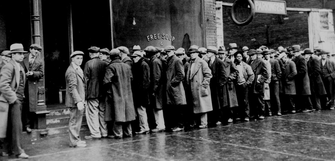 Stock Market Crash Heralds Great Depression