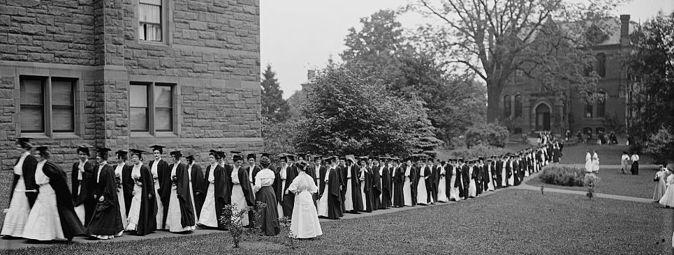 First Students Arrive At Mt Holyoke Seminary
