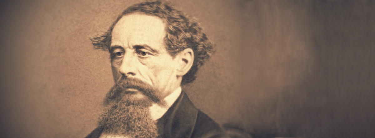 Charles Dickens Begins Second American Tour